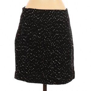 NWT --The Limited Black Polka Dot Skirt, Size 4